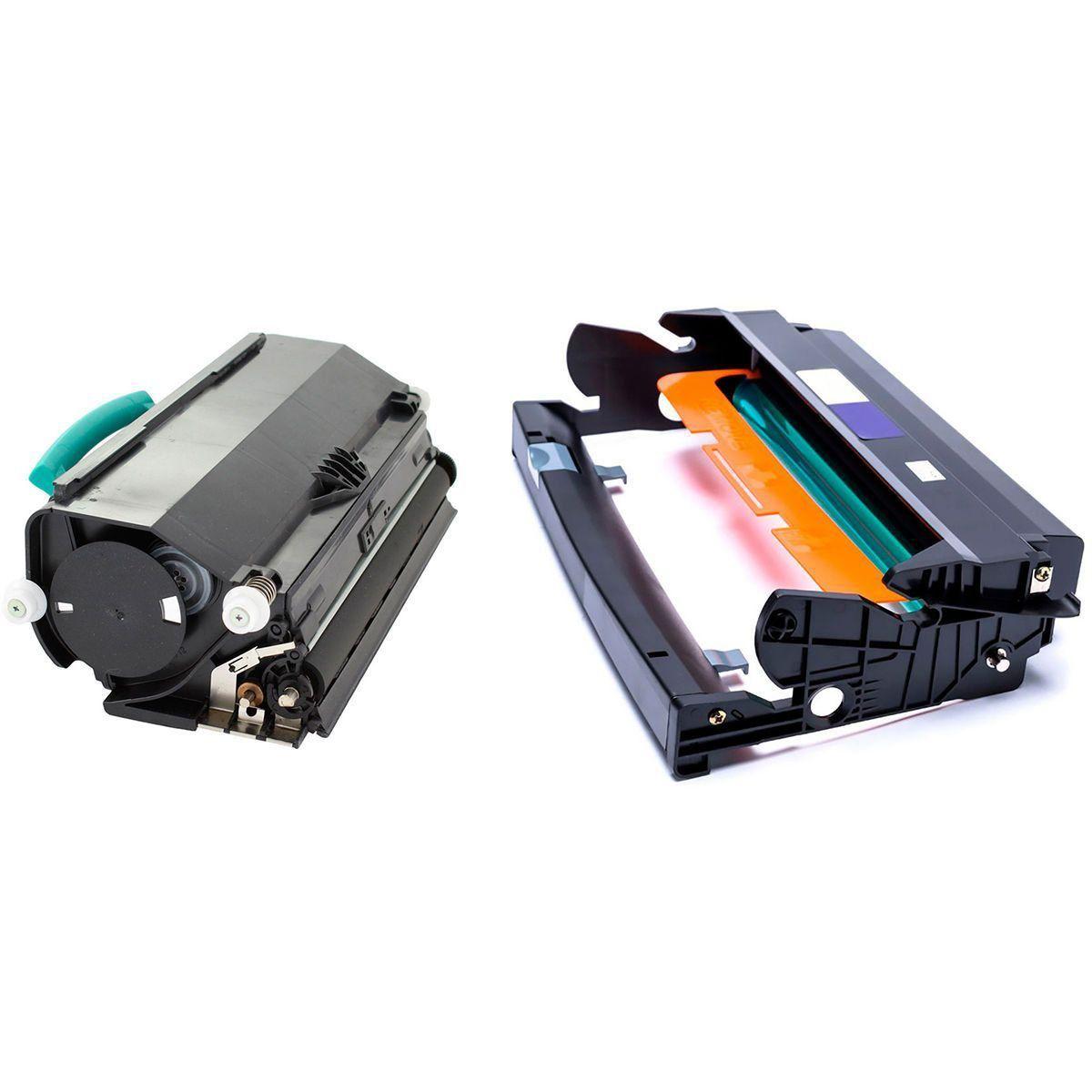 Compatível: Combo Fotocondutor DRE260 + Toner E260 para Lexmark E260dn E360dn E460dn E360 E460 E462 X264 X363 X364 X463