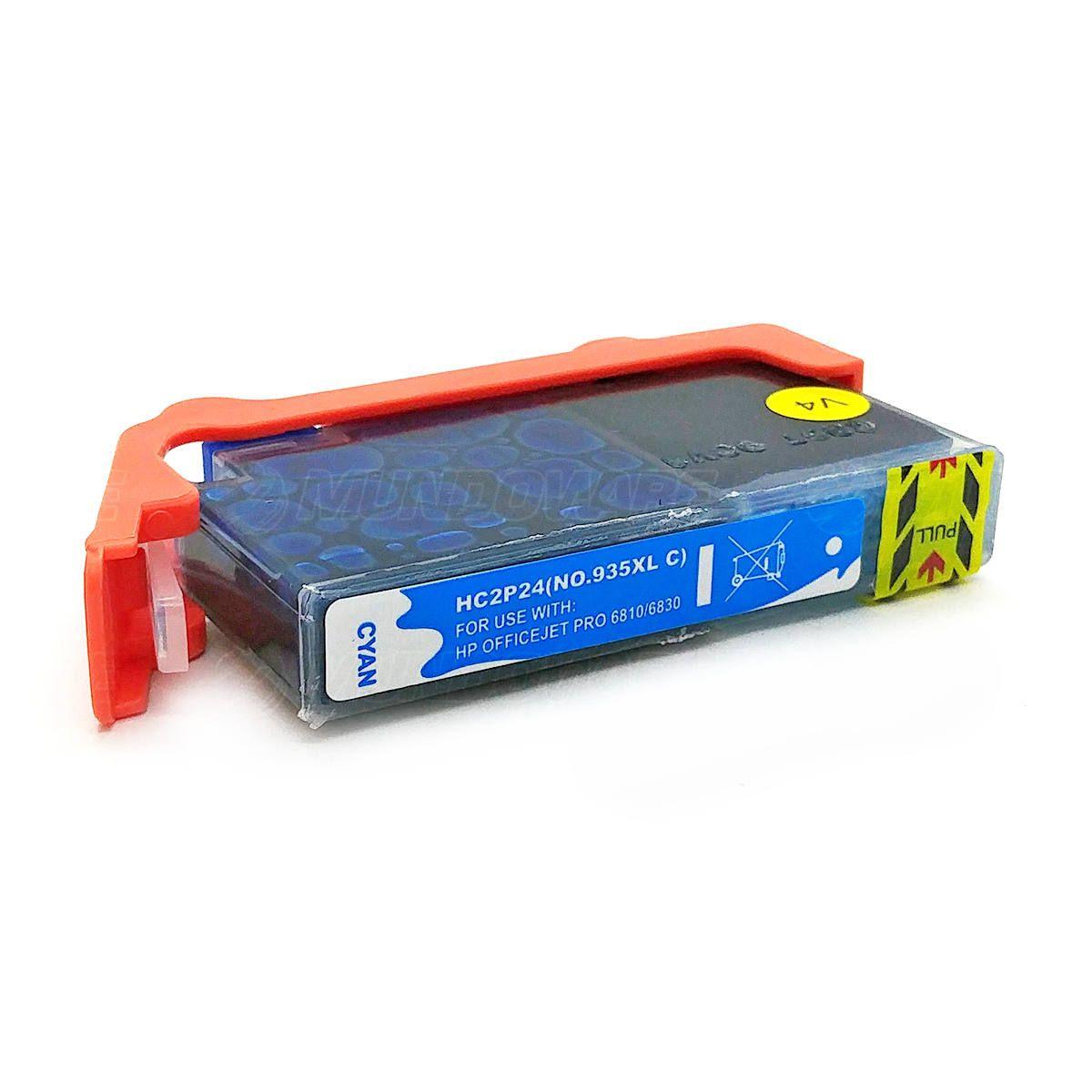 Compatível: Cartucho de Tinta 935xl 935 xl para Impressora HP Pro 6230 6830 / Ciano / 13ml