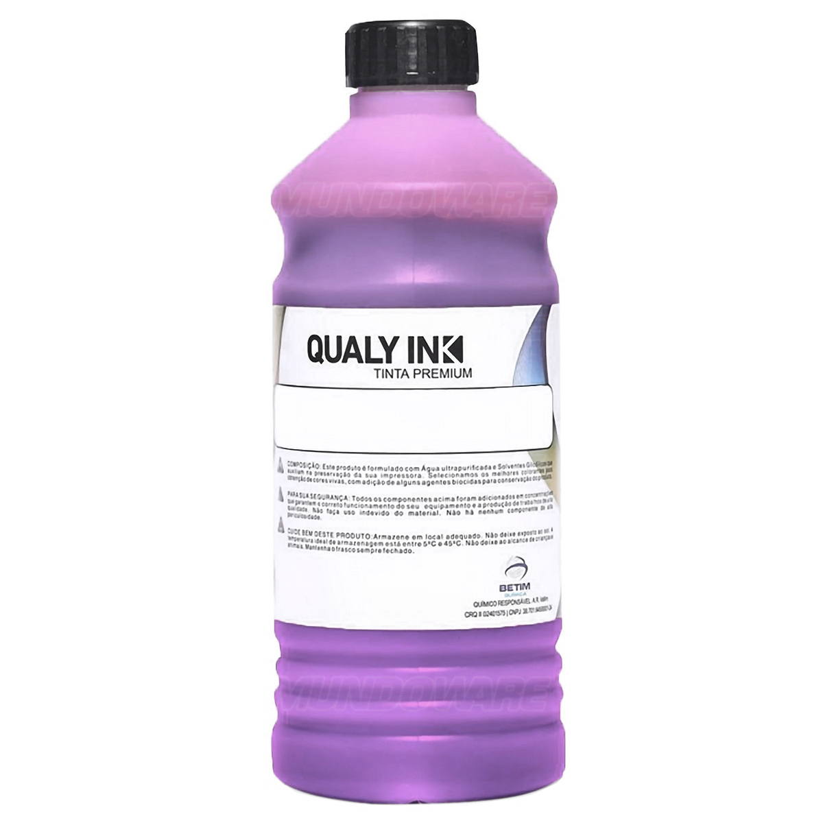 Compatível: Tinta Pigmentada Qualy-Ink MP3E-1534 Série 504 / 544 para Epson L3110 L3158 L4160 L6168 Magenta 1L