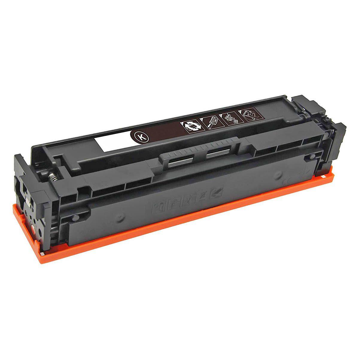 Compatível: Toner CF530A 205A para Impressora HP M154nw M154a M181fw M180nw M180n 154nw 180nw 181fw / Preto / 1.100