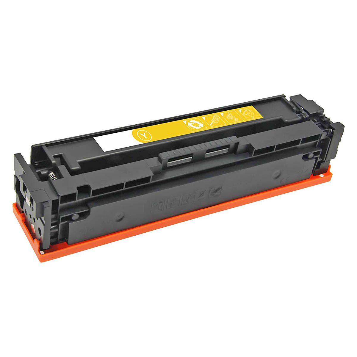 Compatível: Toner CF532A 205A para Impressora HP M-180n M-180nw M-181fw M-154a M-154nw M180nw M154nw / Amarelo / 900