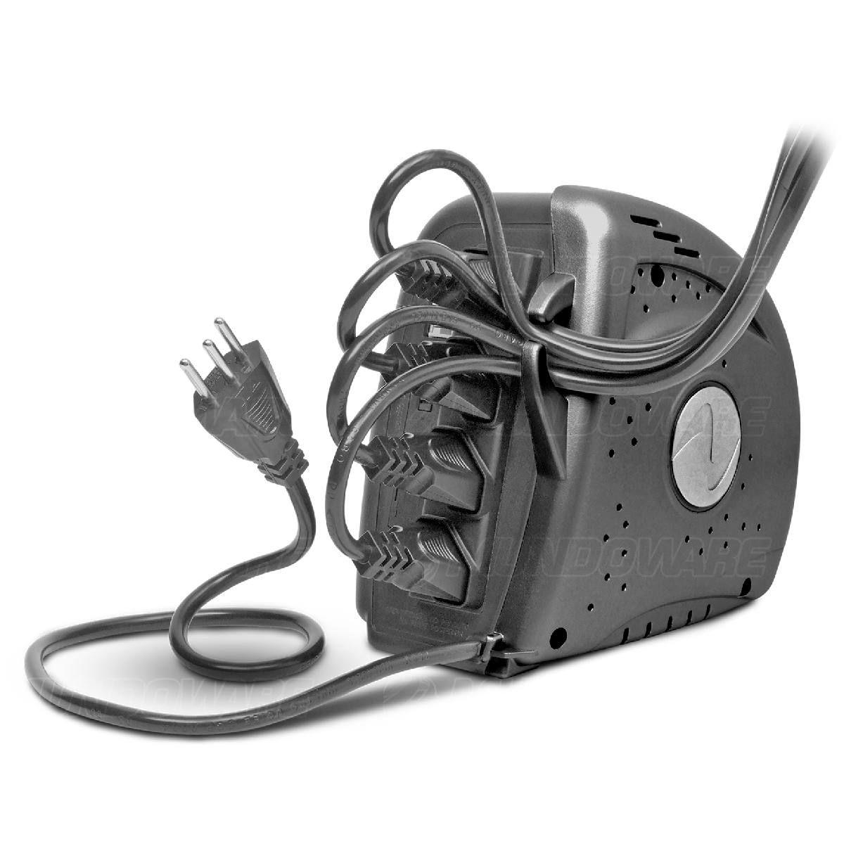 Estabilizador 300VA 300W Trivolt 4 Tomadas Proteção contra Sobrecarga Curto Circuito Sobretemperatura Ragtech