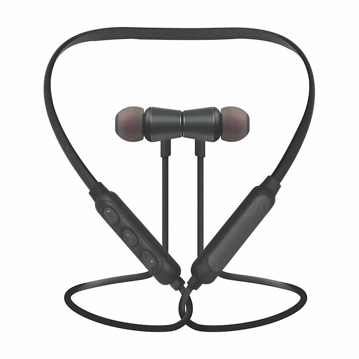 Fone Sports Smart Wireless Stereo Bluetooth com Microfone Embutido para Atender Chamadas Kimaster K33