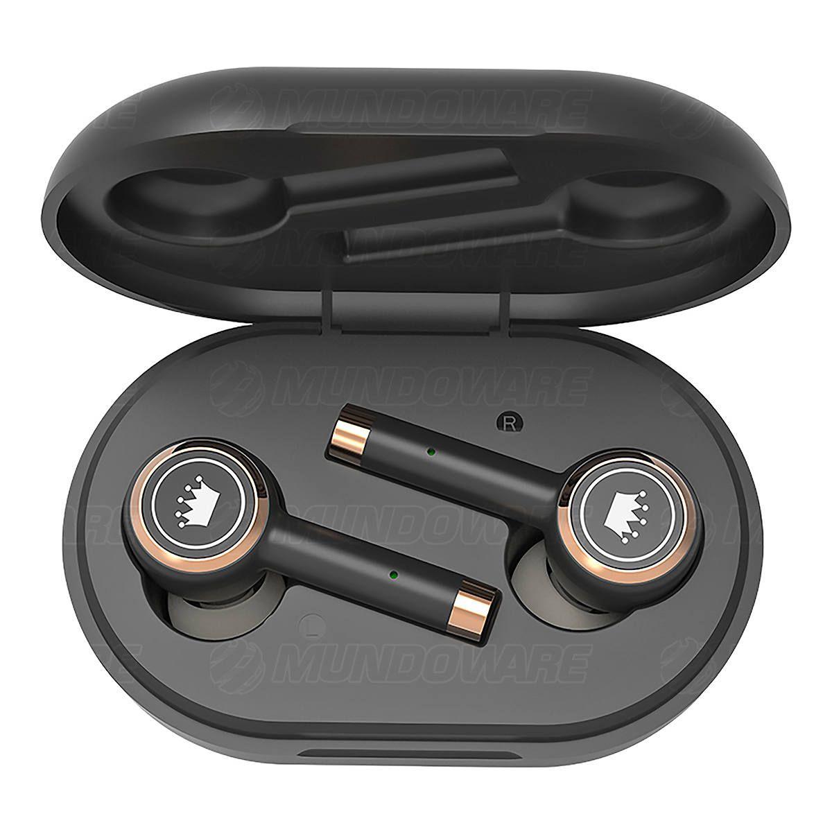 Fone Earbuds Bluetooth 5.0 Magnético com Microfone Embutido e Estojo de Carregamento Kimaster TWS100