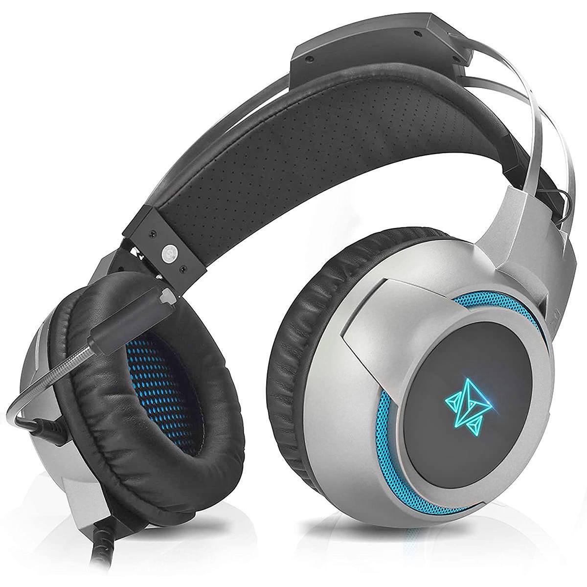 Headset Gamer Multi-Dispositivos Microfone Omnidirecional Drivers 50mm Adamantiun Fone Kira AH-1000