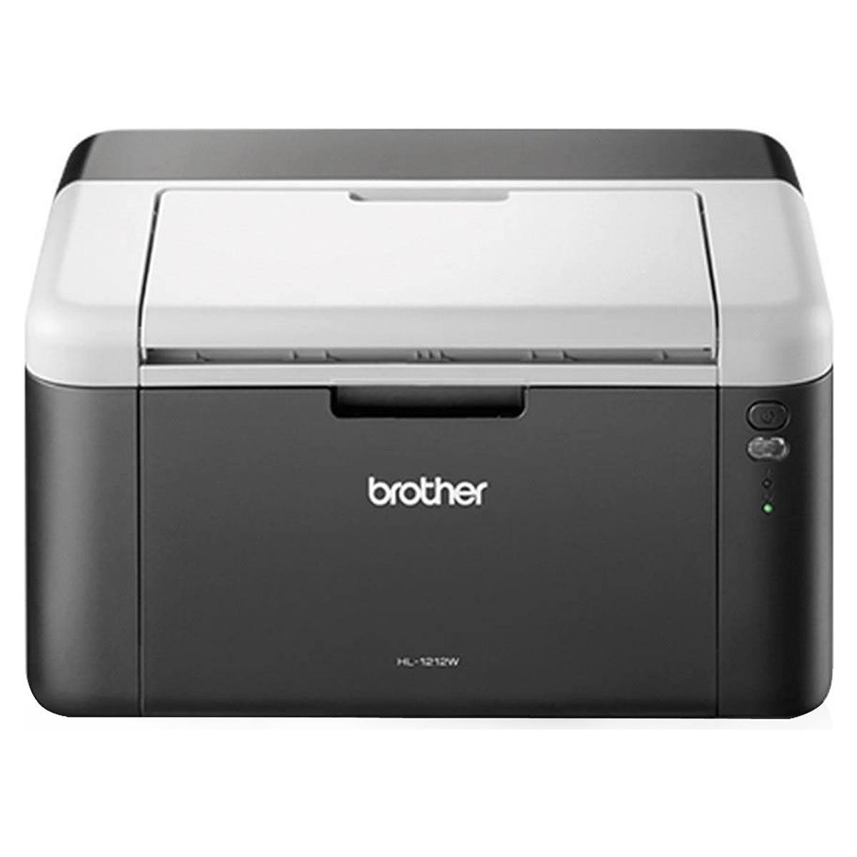 Impressora Brother HL-1212W Laser Monocromática com Conexão Wireless e USB 110V HL1212W
