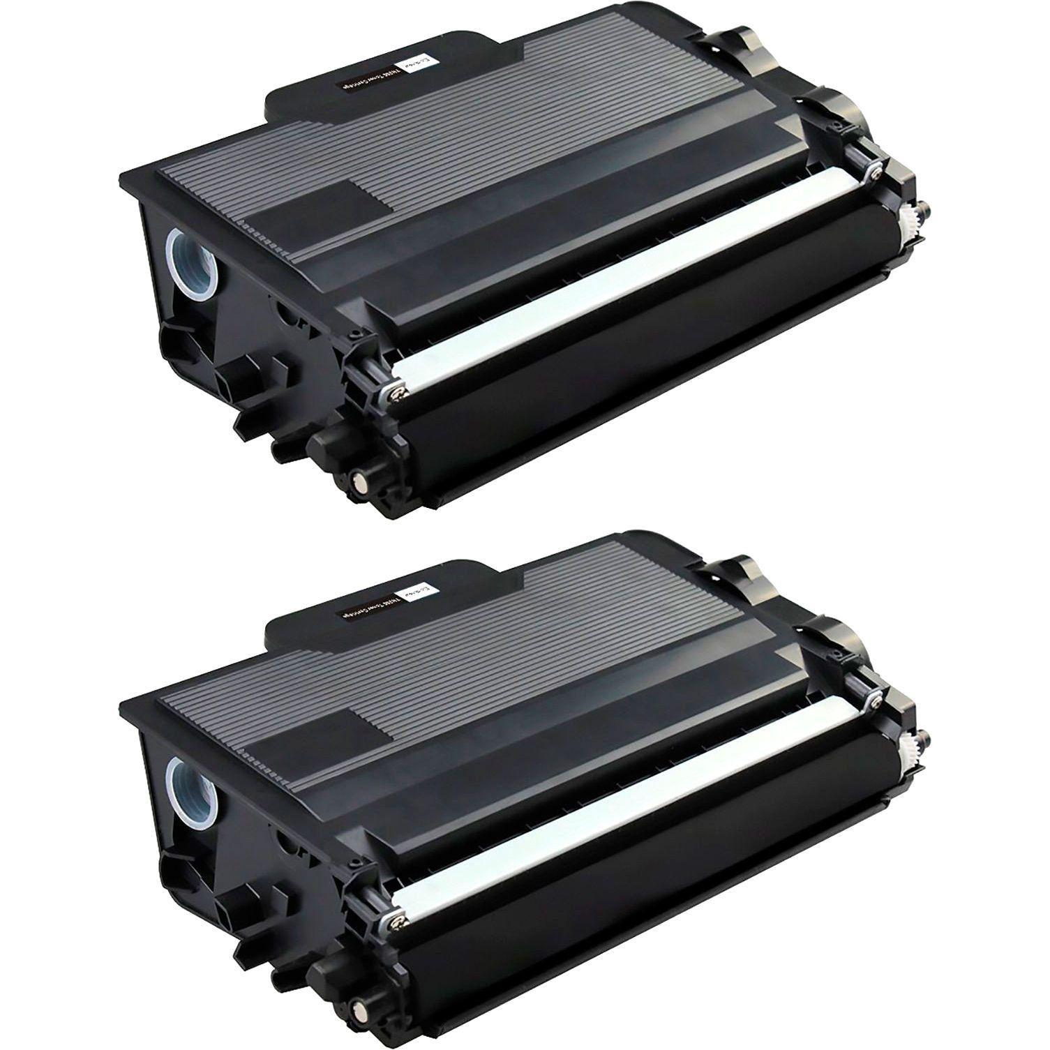 Compatível: Kit 2x Toner TN3442 TN850 para Brother HL-L5102dw L6202dw L6402dw MFC-L5702dw DCP-L5602 / Preto / 8.000