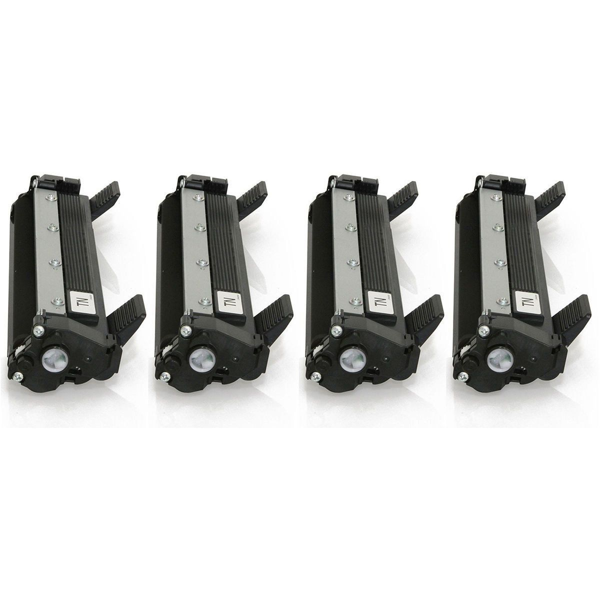 Compatível: Kit 4x Toner TN-1000 TN-1060 para Brother DCP-1612w DCP-1510 DCP-1602 DCP-1518 HL-1210w / Preto / 1.000