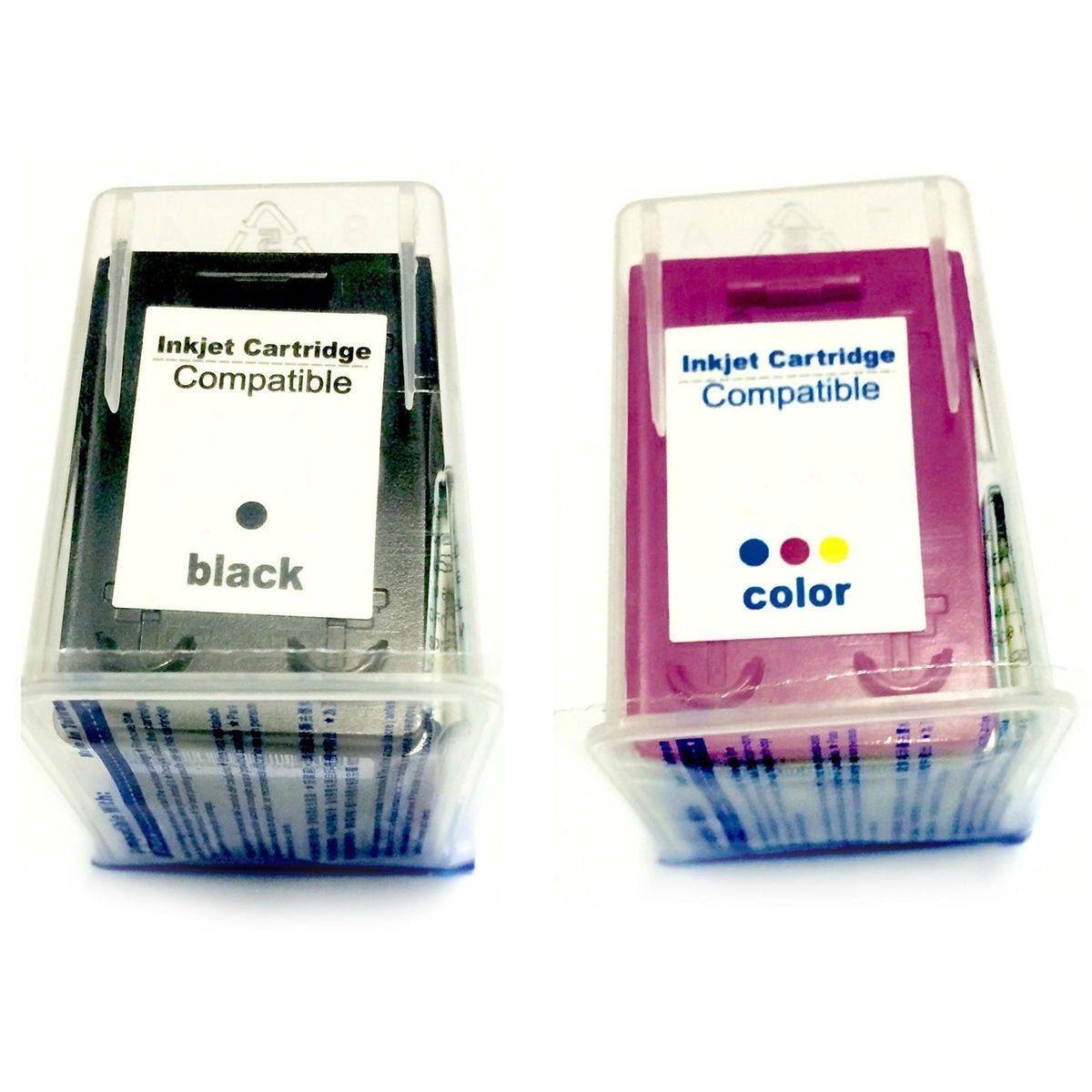 Compatível: Kit Colorido de Cartucho de Tinta 122xl 122 para Impressora HP 1000 1050 1055 2000 2050 3000 3050a