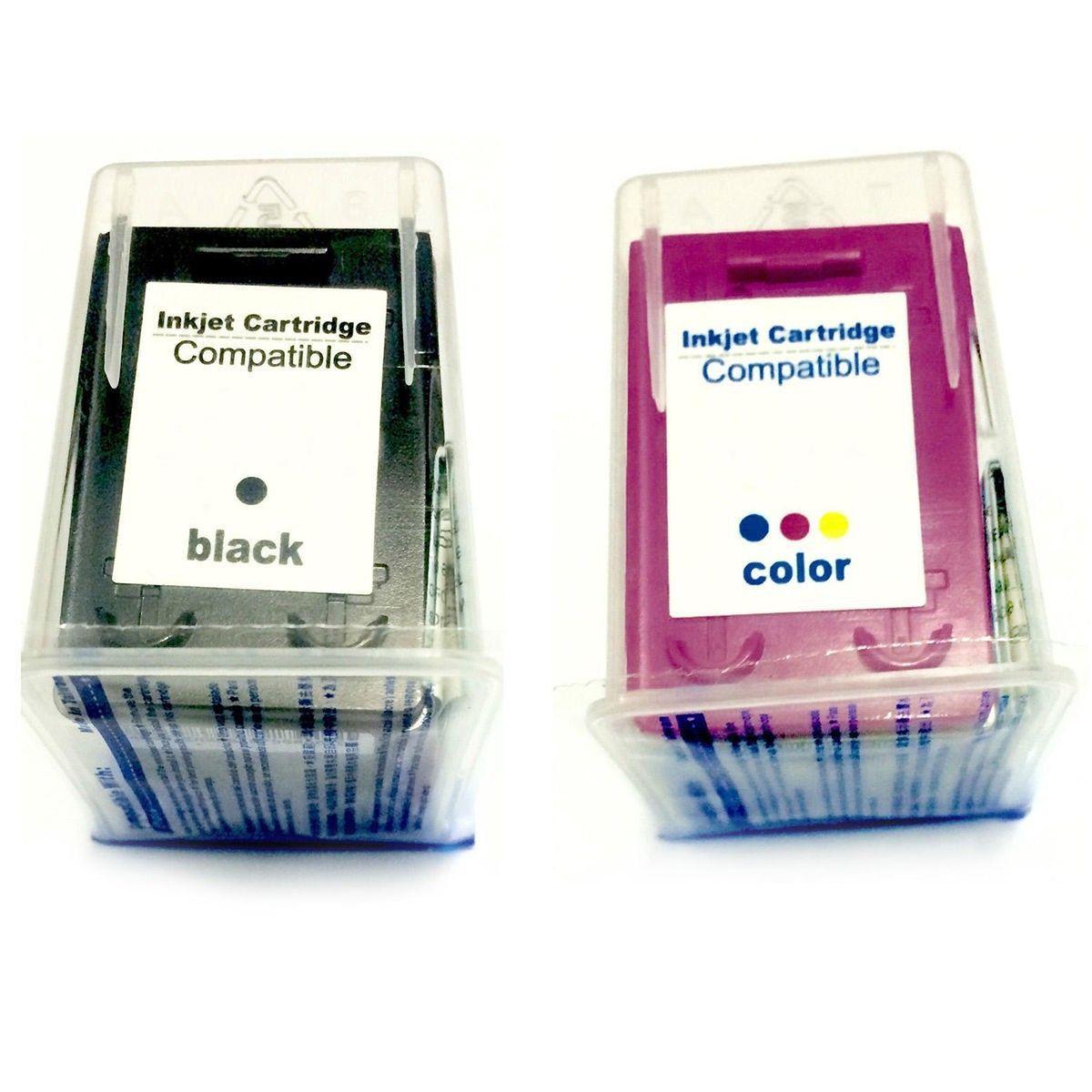 Compatível: Kit Colorido de Cartucho de Tinta 61xl 61 para Impressora HP 1000 J110 1050 1051 1010 2050 2500 2540