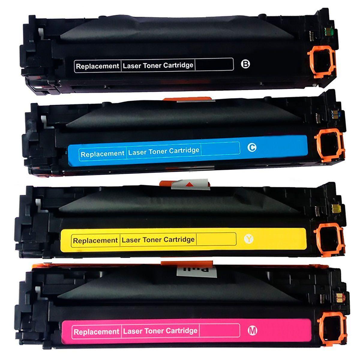 Compatível: Kit Colorido de Toner 304A 305A 312A para HP M476nw M475nw M451nw M375nw CP2020 CP2025 CM2320nf mfp CP-2025