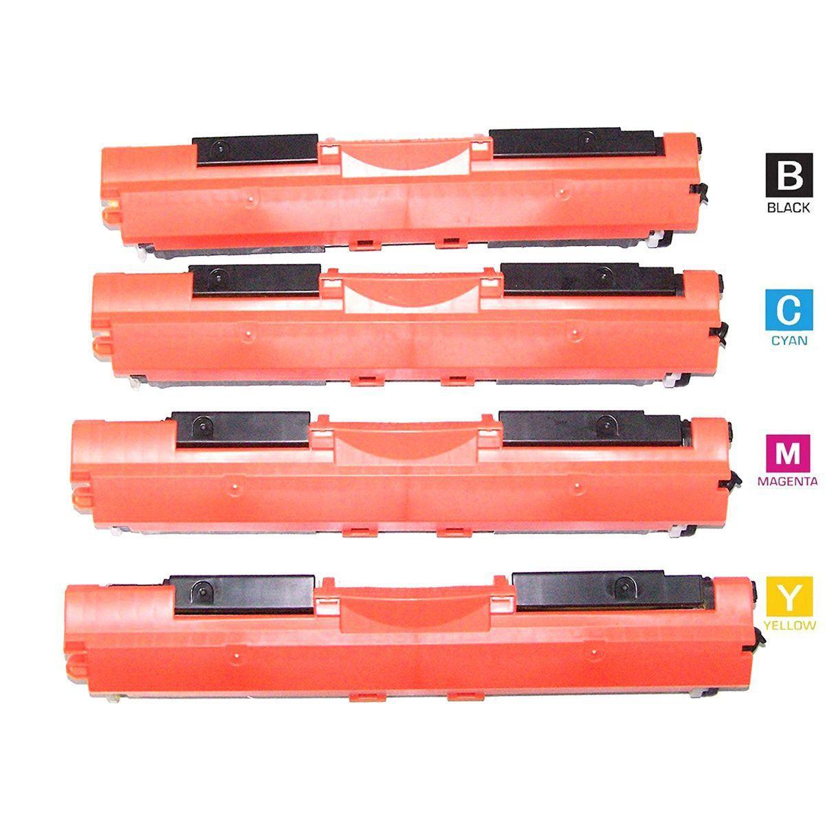 Compatível: Kit Colorido de Toner 350A 351A 352A 353A para Impressora HP M177 M177w M177fw M-177 M-177w M-177fw