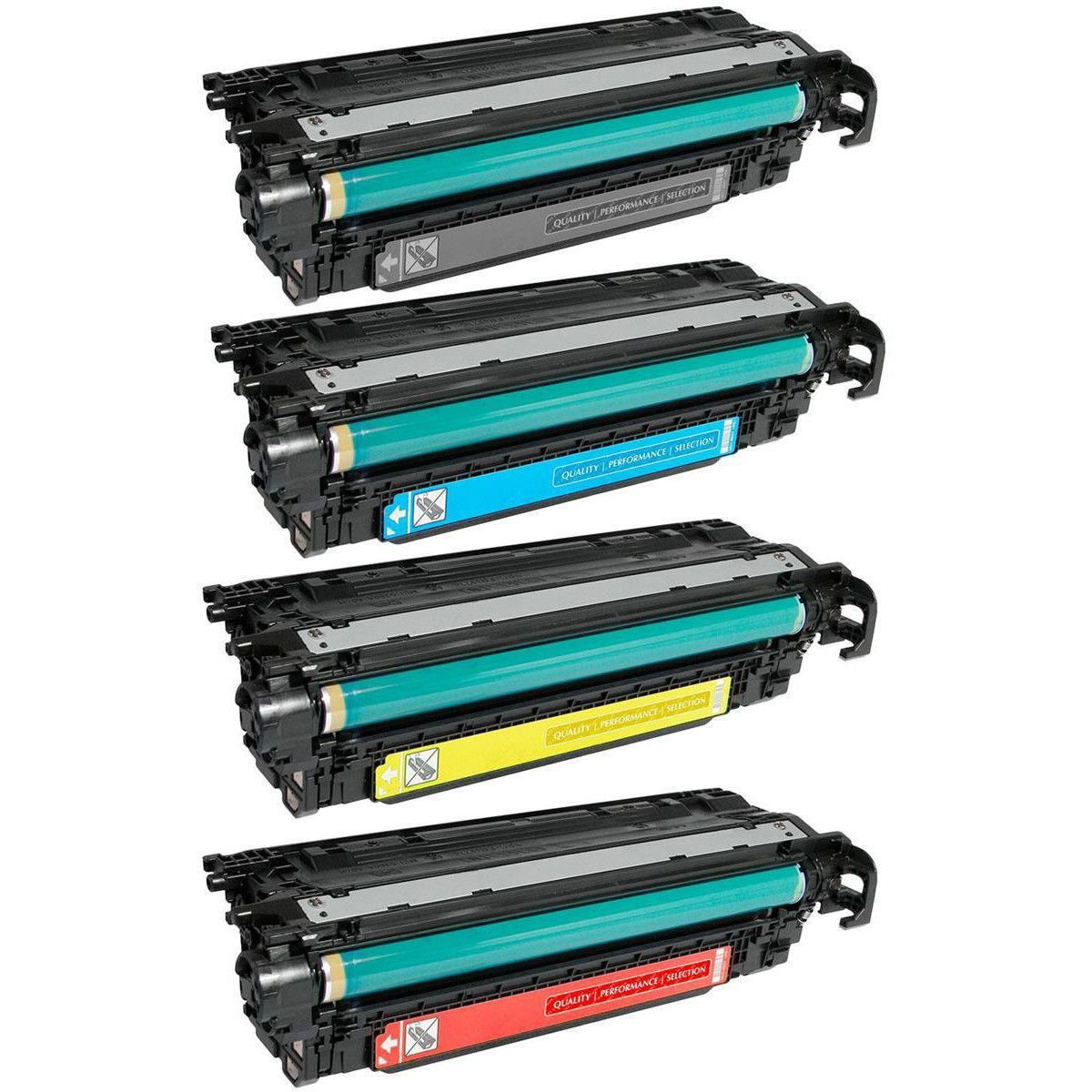 Compatível: Kit Colorido de Toner 507A 504A para HP CP3525 CP3525dn CM3530 CM3530fs M551dn M570dn M551n M575c M551