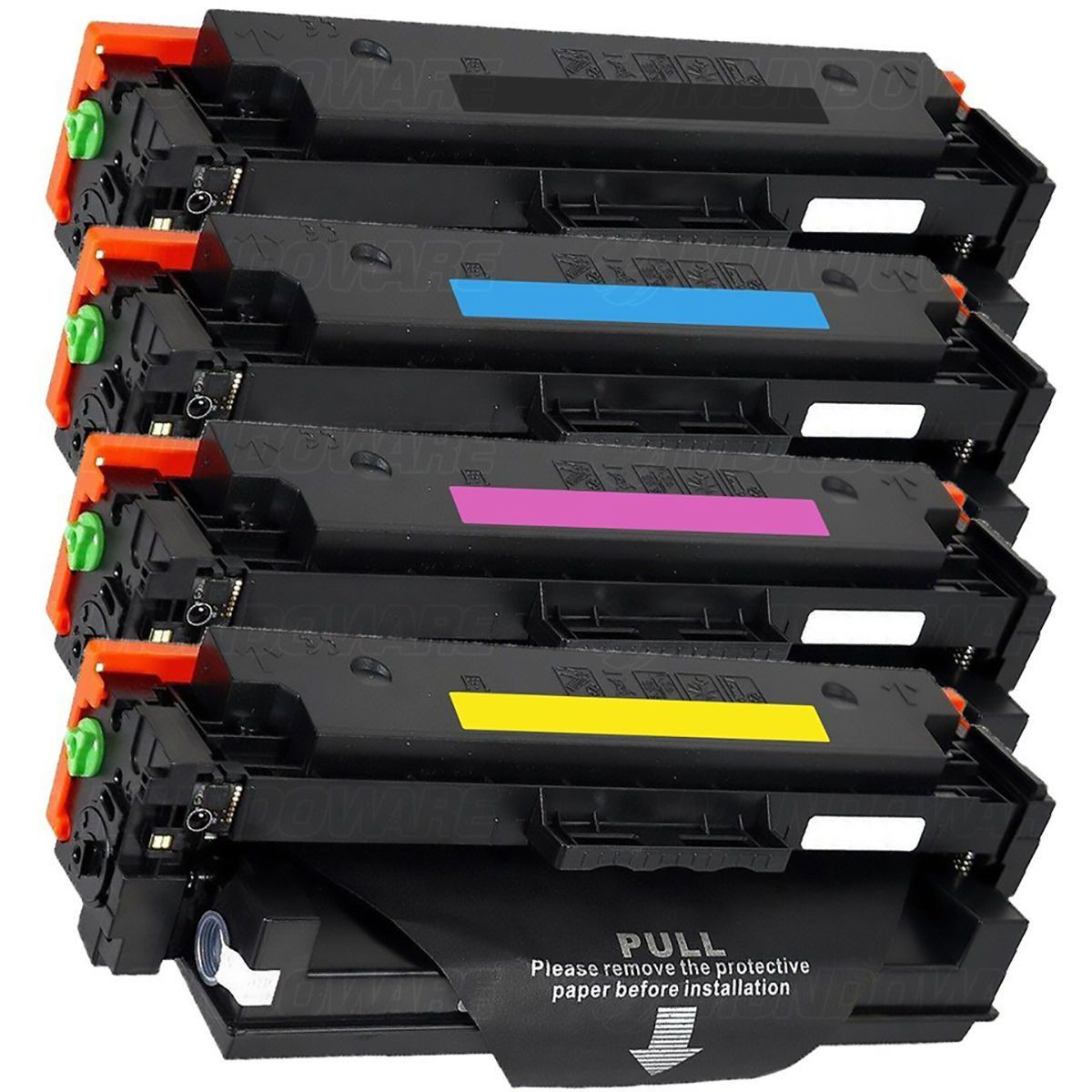 Compatível: Kit Colorido de Toner CF410X para HP M452 M477 M477fdw M452dn M477fnw M452nw M477fdn M452dw 477fdw 477fnw