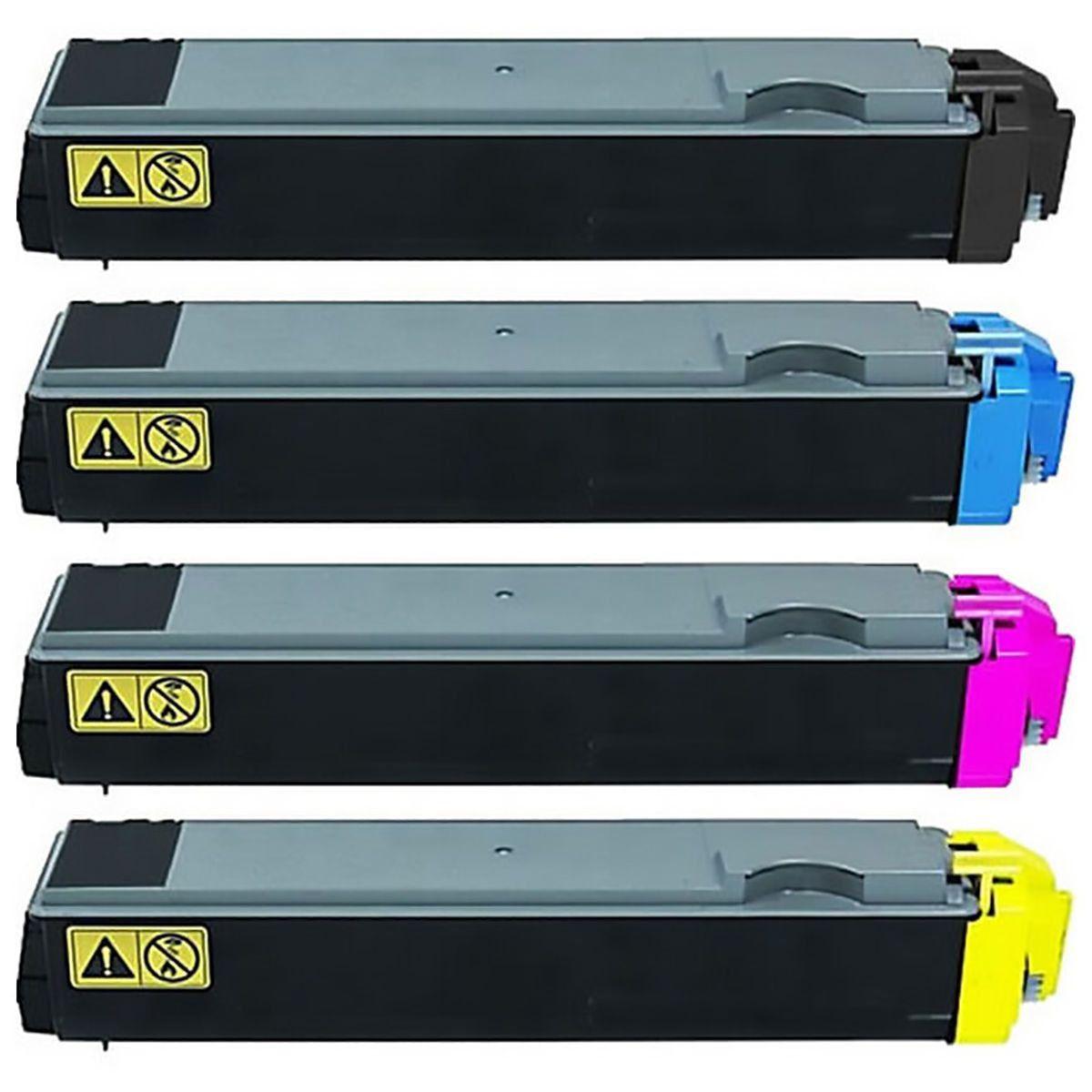 Compatível: Kit Colorido de Toner TK-582 TK582 para Kyocera FSC5150 FSC5150dn C5150dn Ecosys P6021 P6021cdn 6021cdn