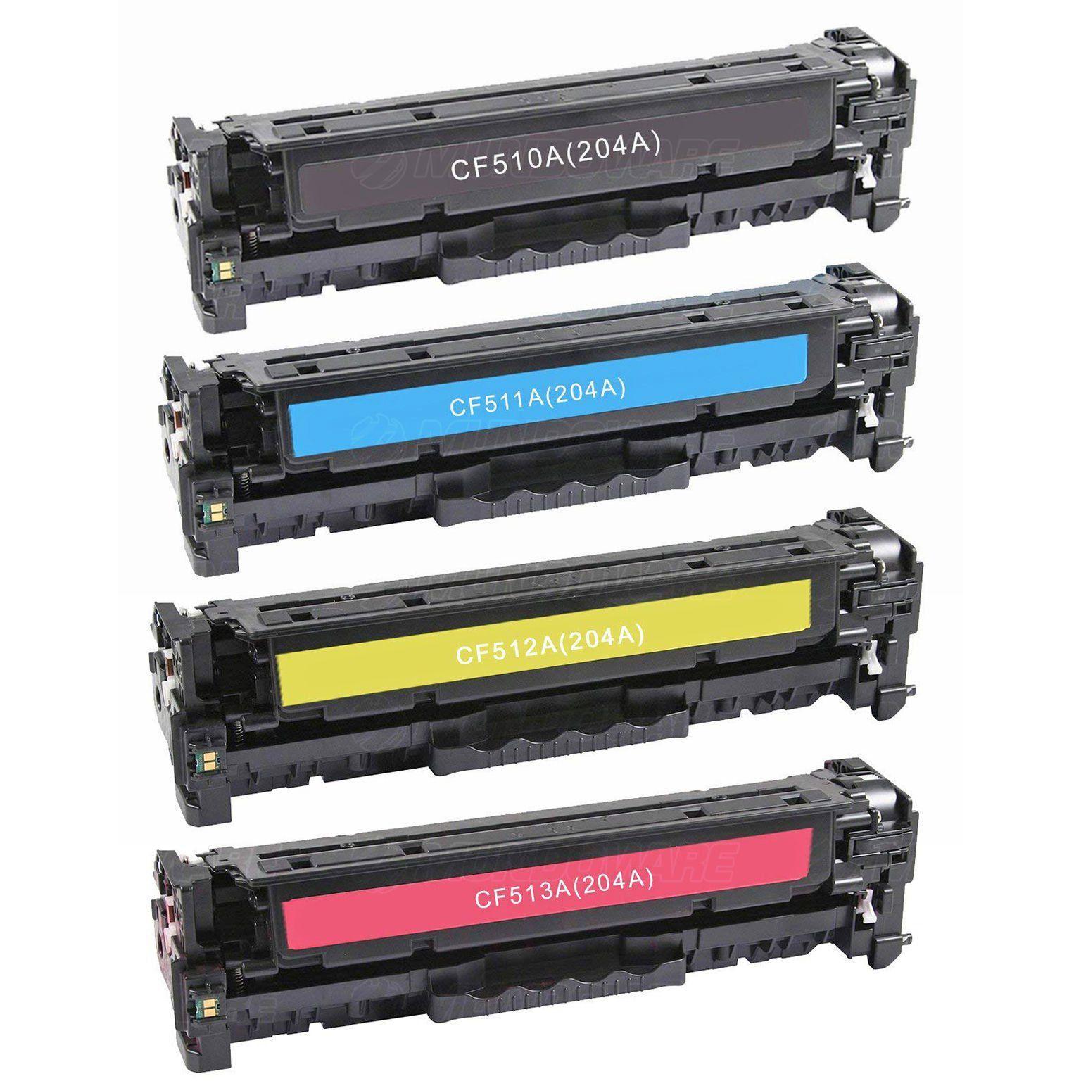 Compatível: Kit Colorido de Toner CF510A CF511A CF512A CF513A para HP M154a M154nw M180n M180nw M181 M181fw 154nw 181fw