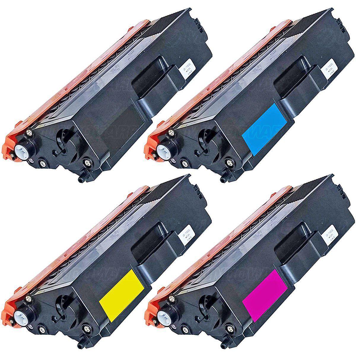 Compatível: Kit Colorido de Toner TN419 para Brother HL-L8360cdw MFC-L8610cdw L8900cdw L9570cdw L8360 L8610 L8900 L9570