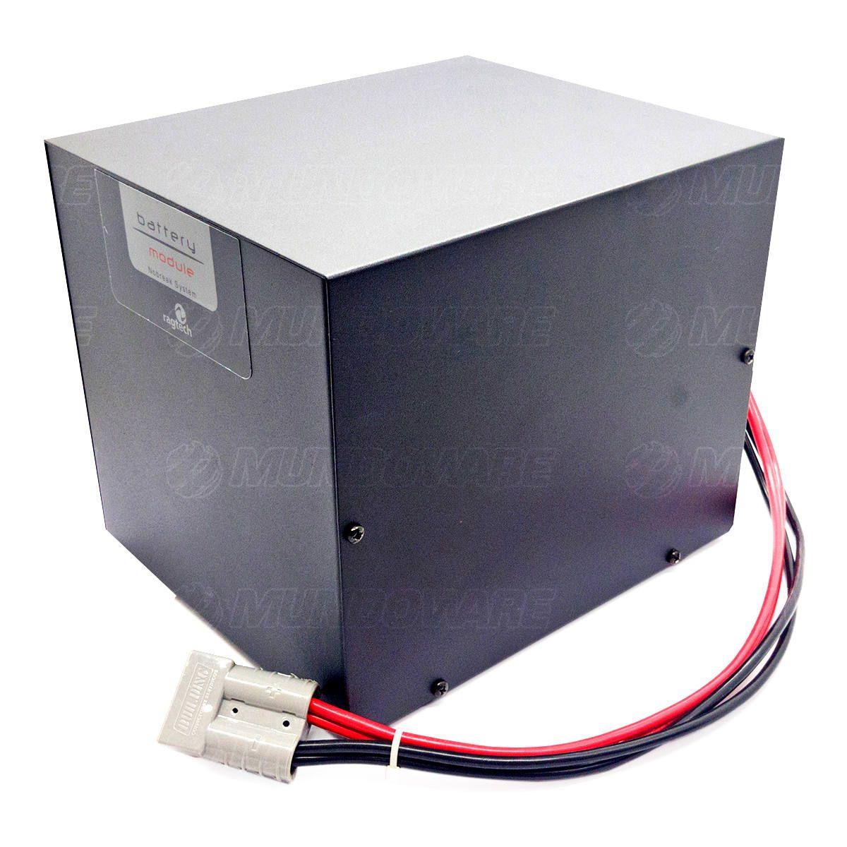 Módulo de Bateria Externa para Nobreak 40Ah 12V com Cabo para Engate Integrado Ragtech A40/12 (Não Acompanha Bateria)