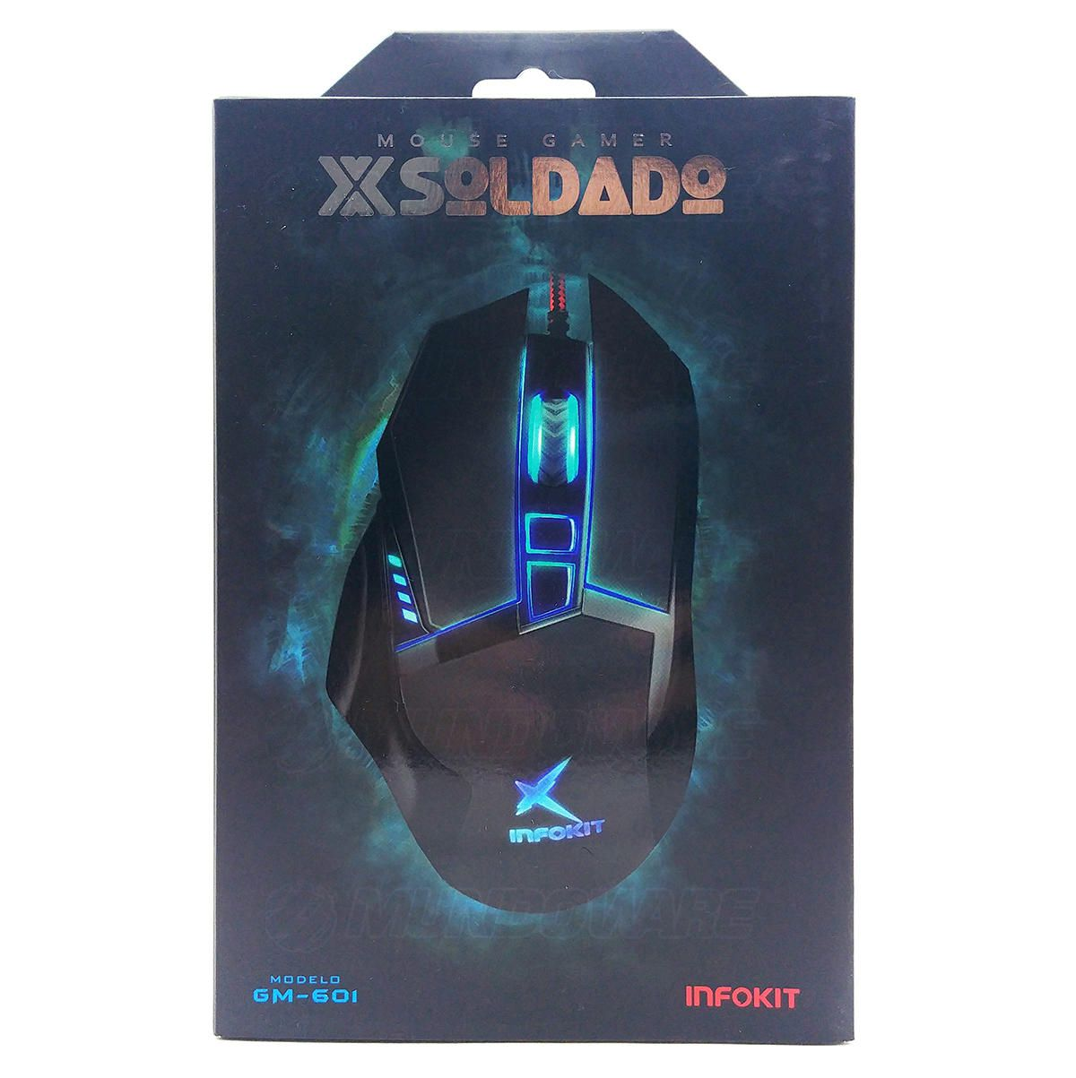 Mouse Gamer X Soldado GM-601