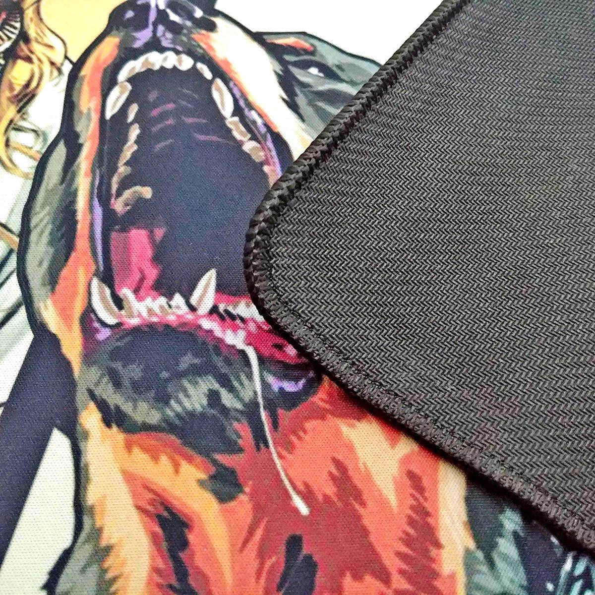 Mouse Pad Gamer Gigante 900x400x3mm com Bordas Costuradas e Base Antiderrapante Exbom MP9040 G.T.A.