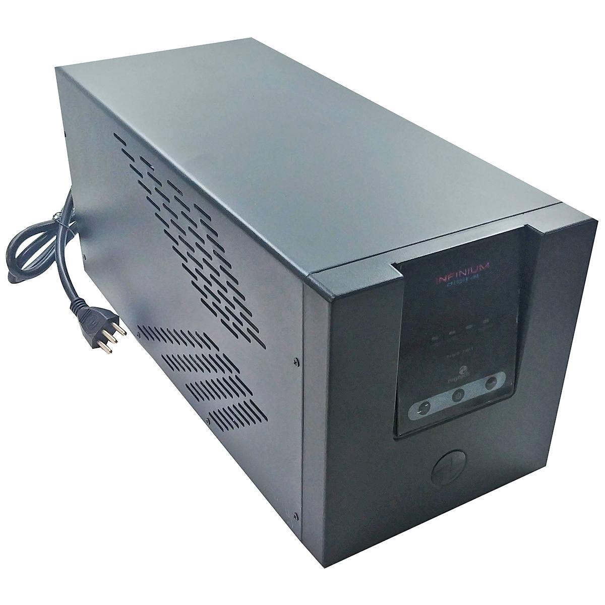 Nobreak 3200VA 2080W PWM Display Digital 10 Tomadas Conector Bateria Externa Disjuntor 30A Bivolt Ragtech Infinium 3902