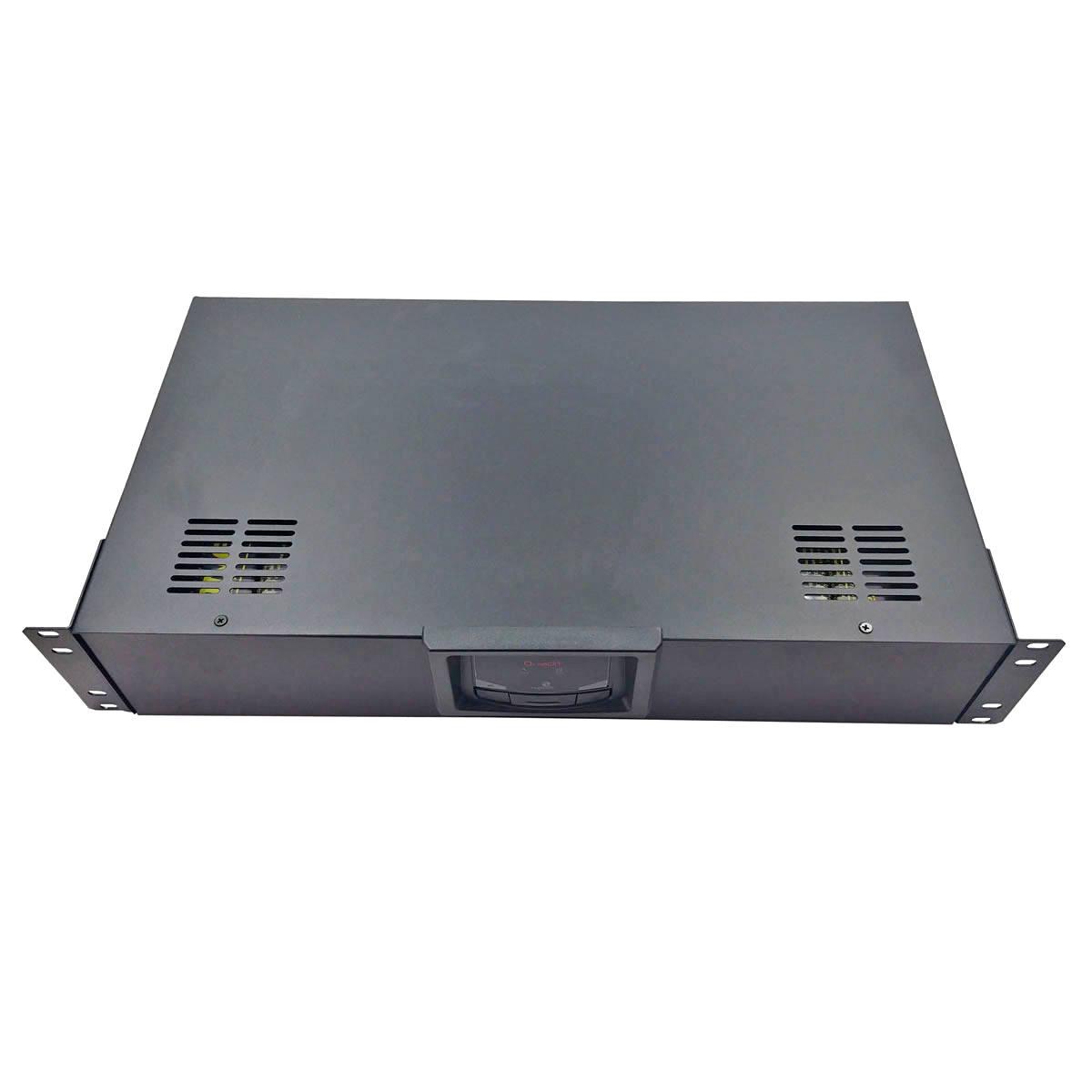 "Nobreak Rack 19"" 2U 1200VA Display Digital 7 Níveis de Proteção 8 Tomadas Conector de Bateria Bivolt Ragtech Quadri 4261"