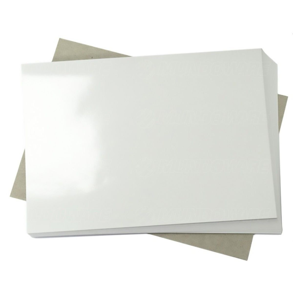 Papel Adesivo Fotográfico 115g A4 Branco Brilhante Resistente à Água / 500 folhas