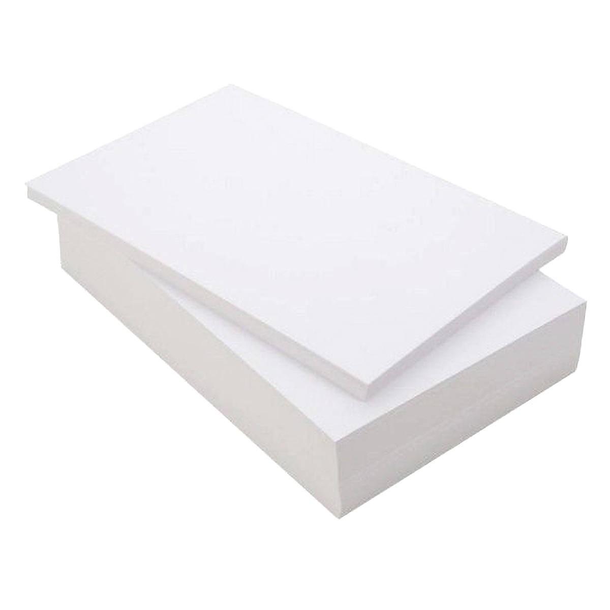 Papel Couche Fosco 160g A4 Branco Premium com 100 Folhas