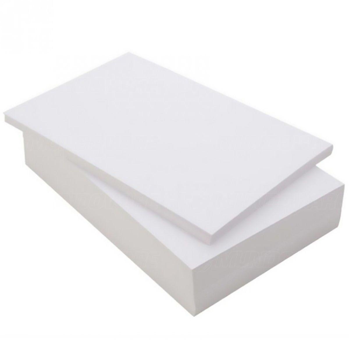 Papel Foto Adesivo Matte Fosco 108g A4 Branco Resistente à Água / 400 folhas