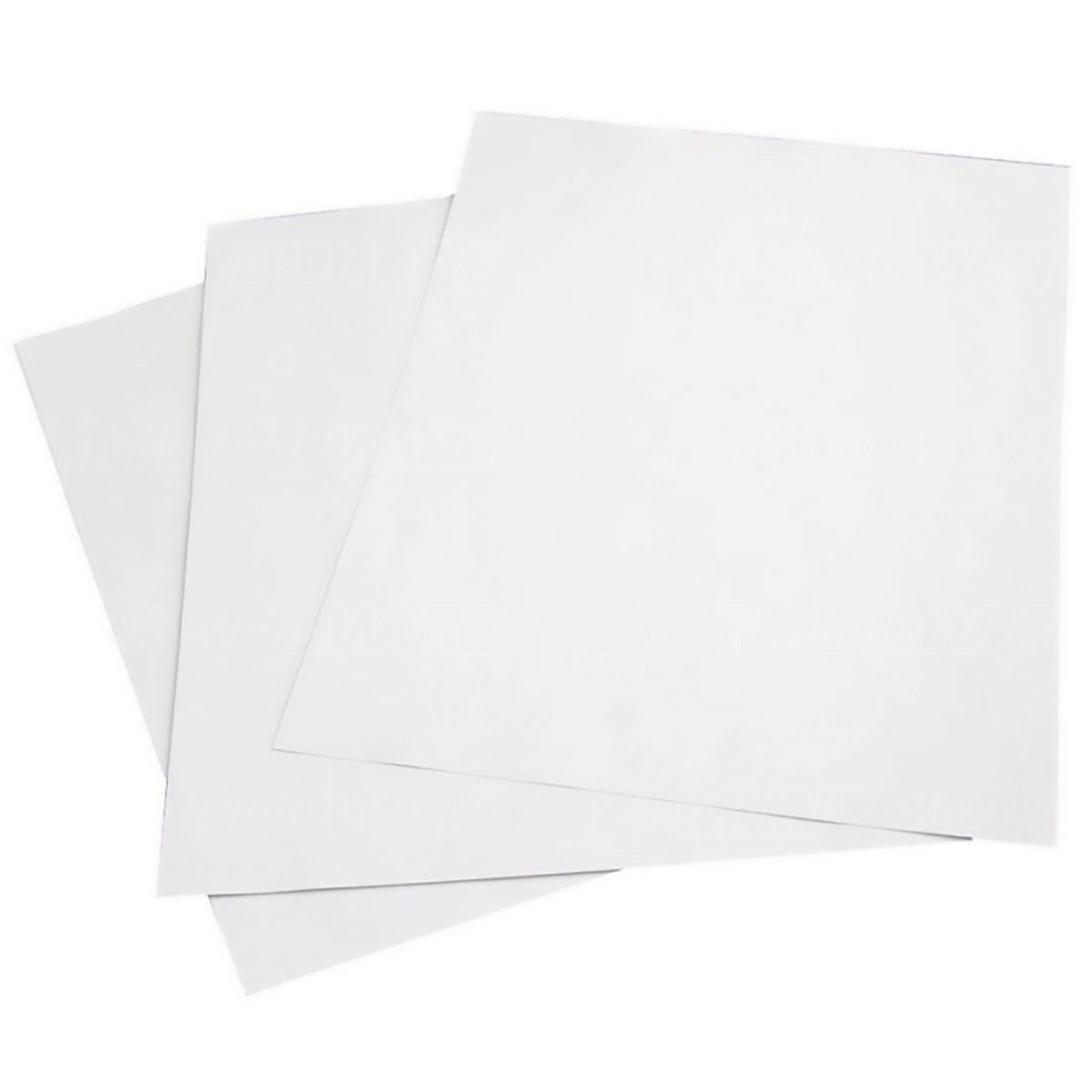 Papel Foto Adesivo Matte Fosco 108g A4 Branco Resistente à Água / 500 folhas
