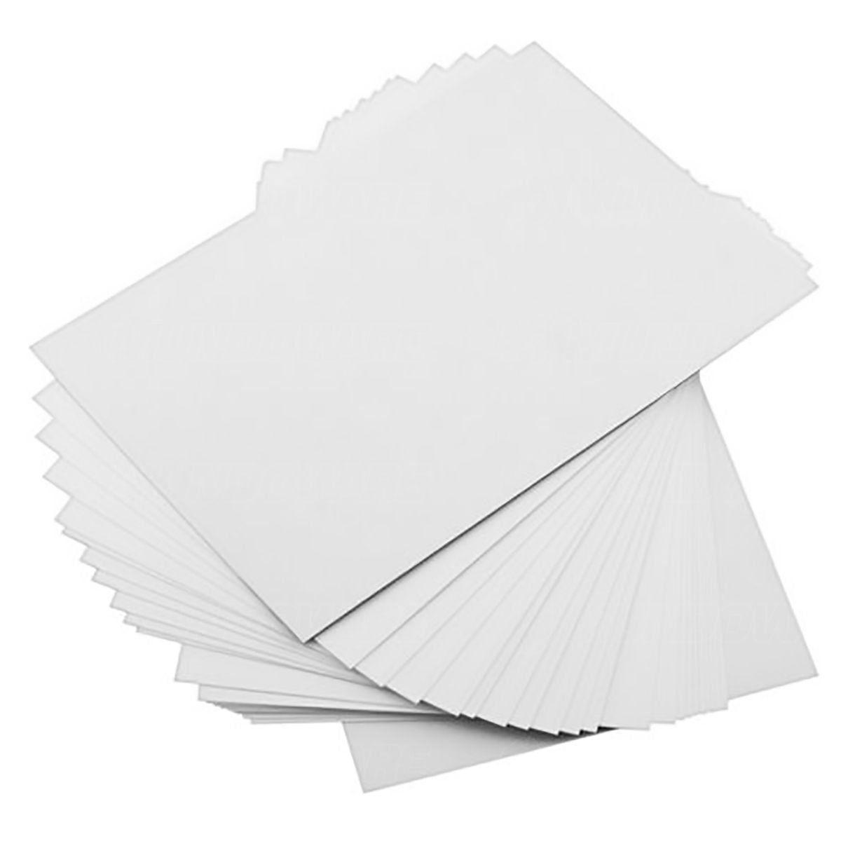 Papel Foto Matte Fosco 170g A4 Branco Sem Brilho Resistente à Água / 500 Folhas
