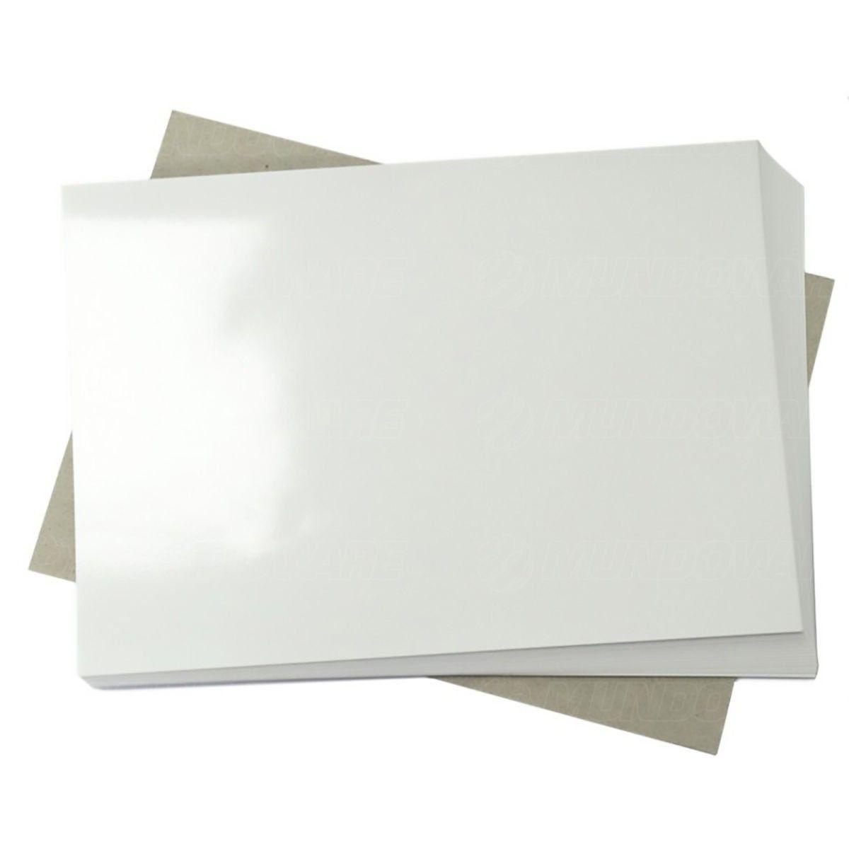 Papel Fotográfico 115g A4 Glossy Branco Brilhante Resistente à Água / 50 folhas