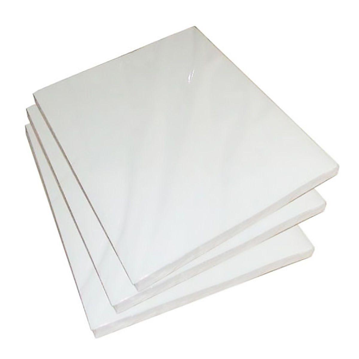 Papel Fotográfico 120g A4 Glossy Branco Brilhante Resistente à Água / 300 folhas