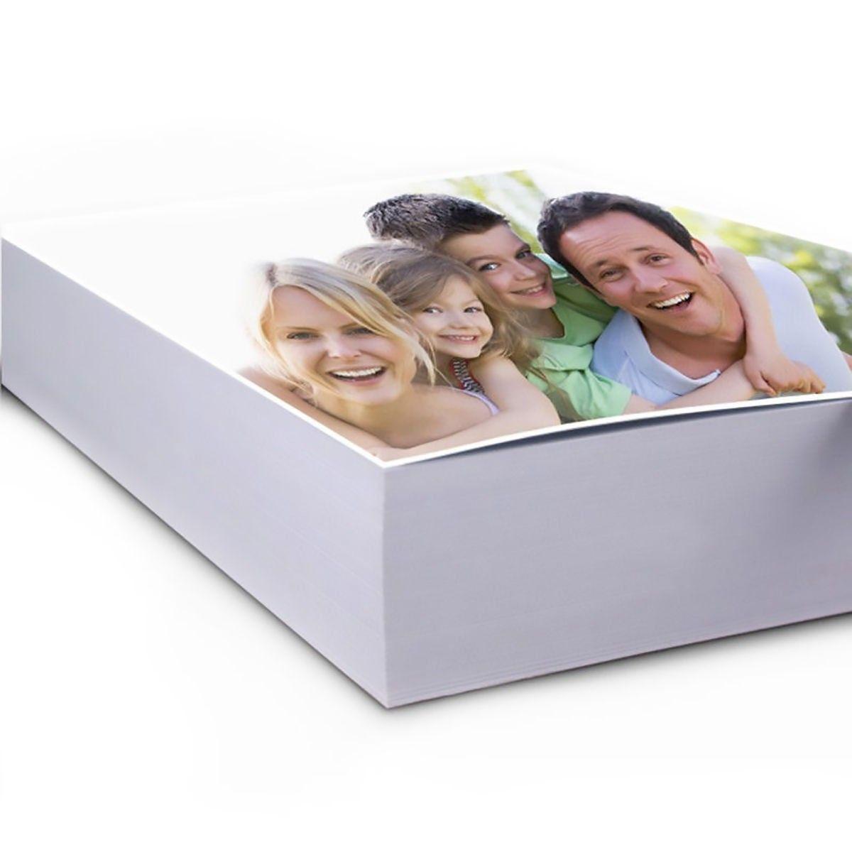 Papel Fotográfico A4 180g Glossy Branco Brilhante Resistente à Água / 1000 folhas