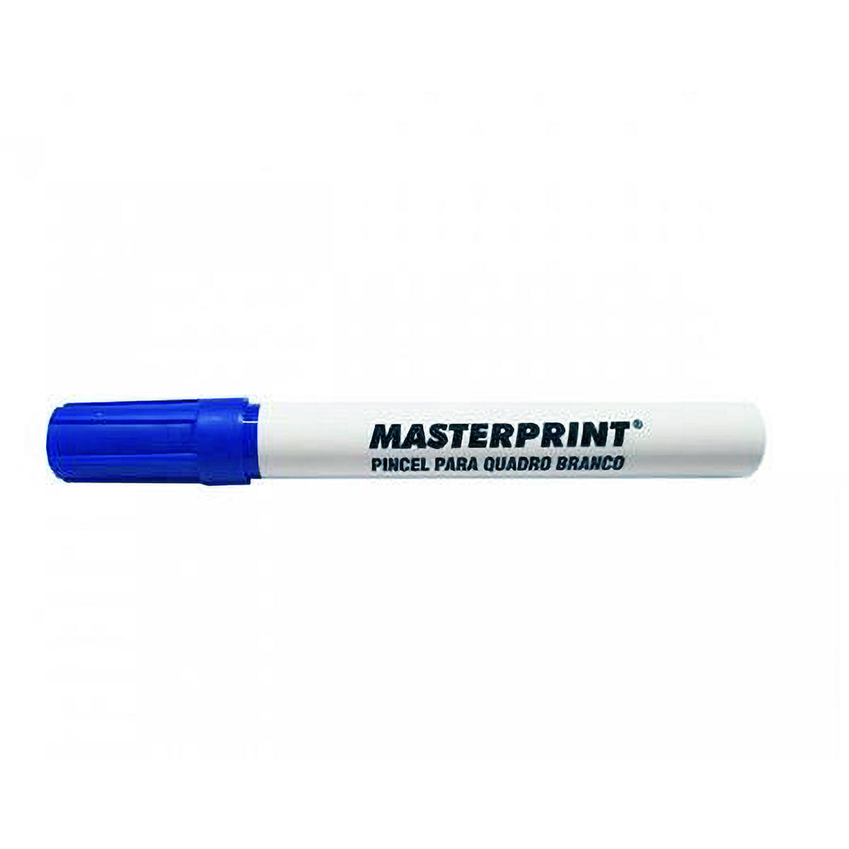 Pincel para Quadro Branco Traço 5mm Ponta Macia Apaga Fácil Masterprint MP617 Canetão Azul