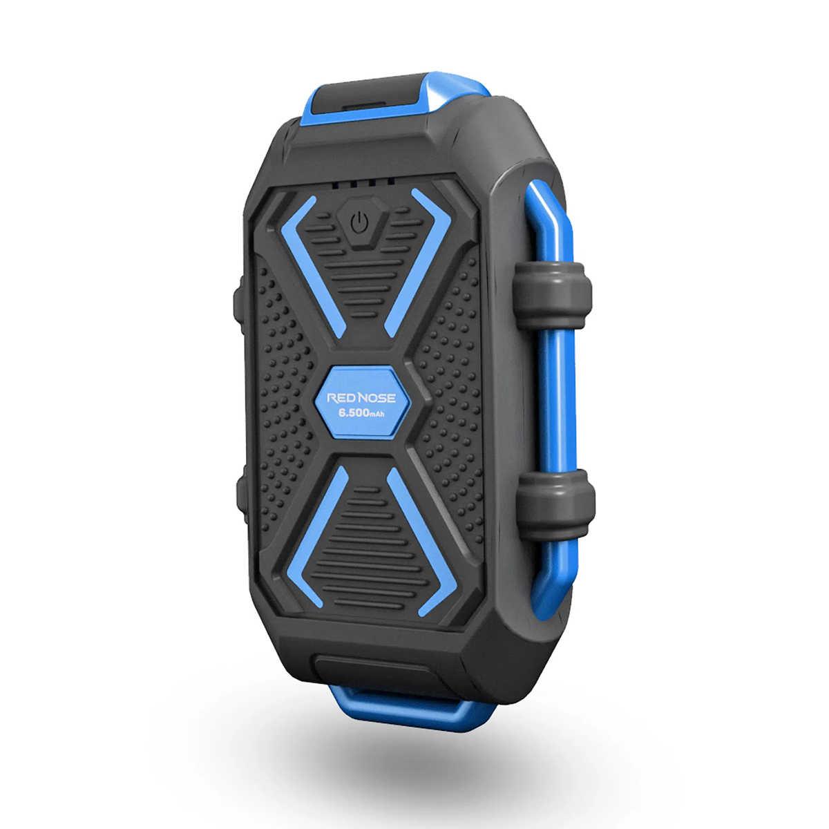 Power Bank Ultra resistente para Esportistas Radicais com 6.500mAh IP66 LED Indicador De Bateria ELG PB65RN Red Nose