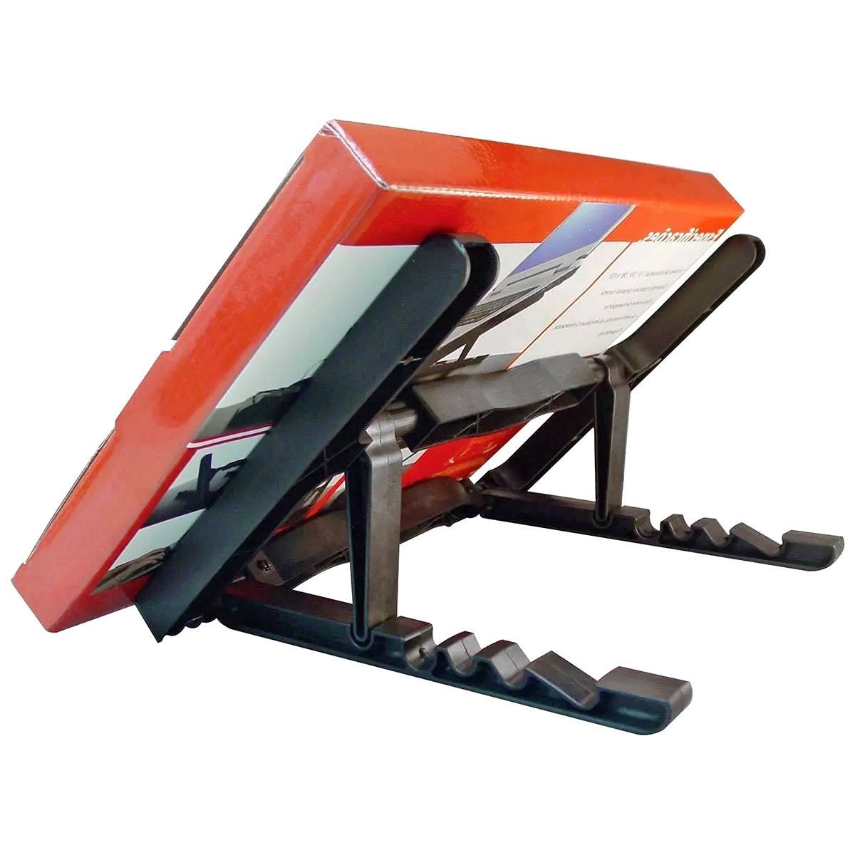 Suporte para Notebook com 4 Níveis de Inclinação até 45 graus Leve e Resistente Masticmol ST35 Preto