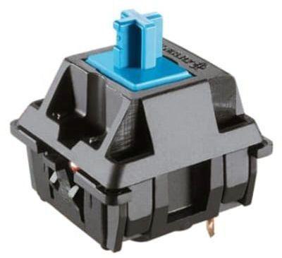Teclado Mecânico Gamer com Iluminação de LED e Estrutura em Metal Exbom BK-GX1