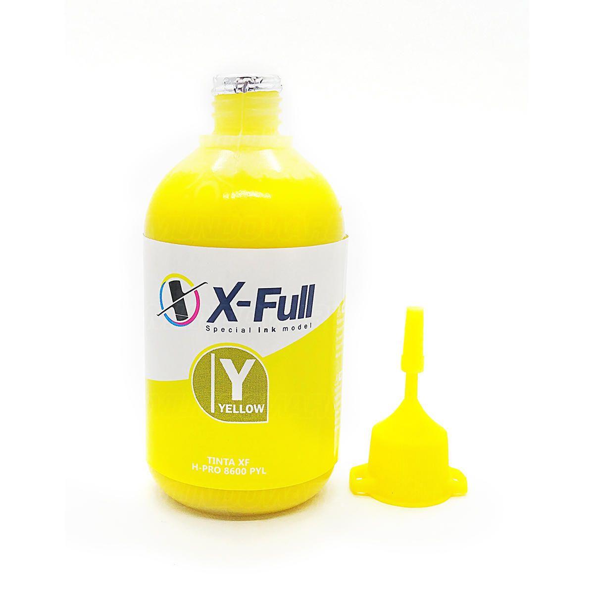 Compatível: Tinta Pigmentada X-Full para HP X451dw X551dw X476dw X576dw 8000 8500 8600 8600w / Amarelo / 100ml