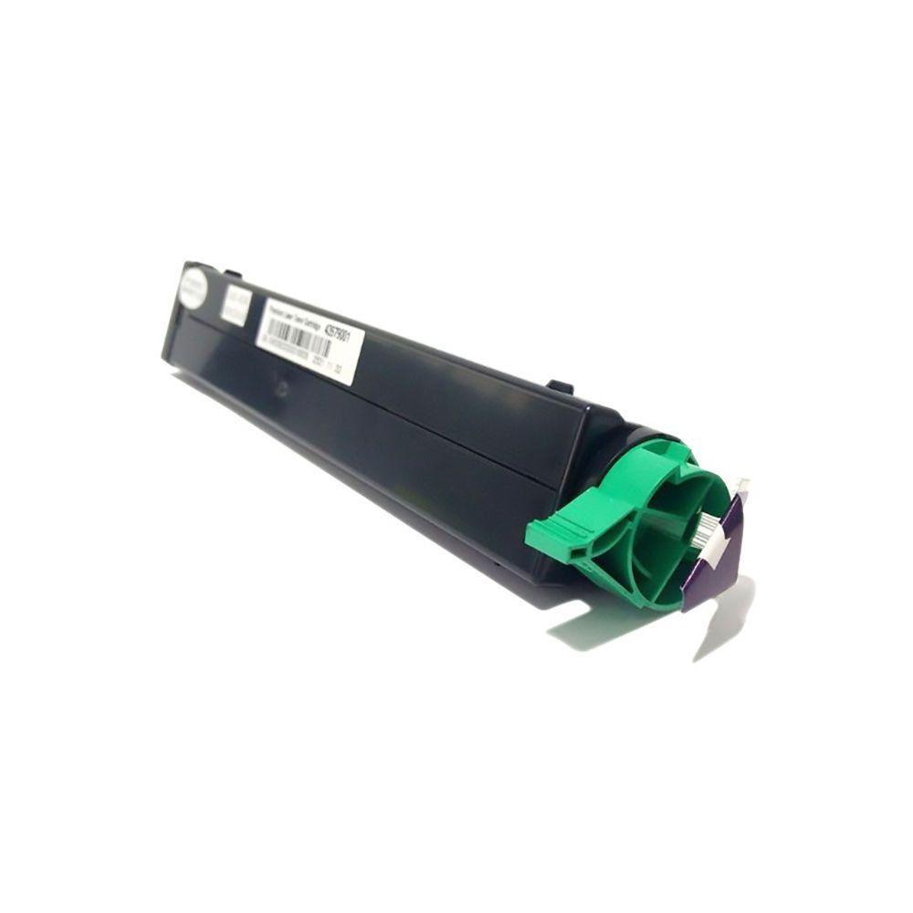 Compatível: Toner B410 para Okidata B410dn B420dn B430dn B420 B430 MB440 MB460 MB470 B430n B410d / Preto / 3.500