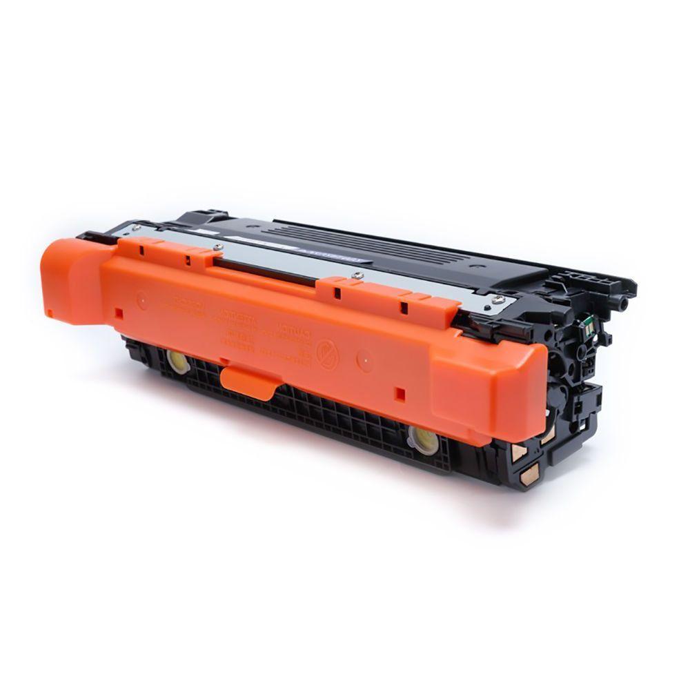 Compatível: Toner CE402A CE252A para HP CP3525 CP3525n CP3525dn CM3530 CM3530hp M551n M575dn M551dn / Amarelo / 7.000