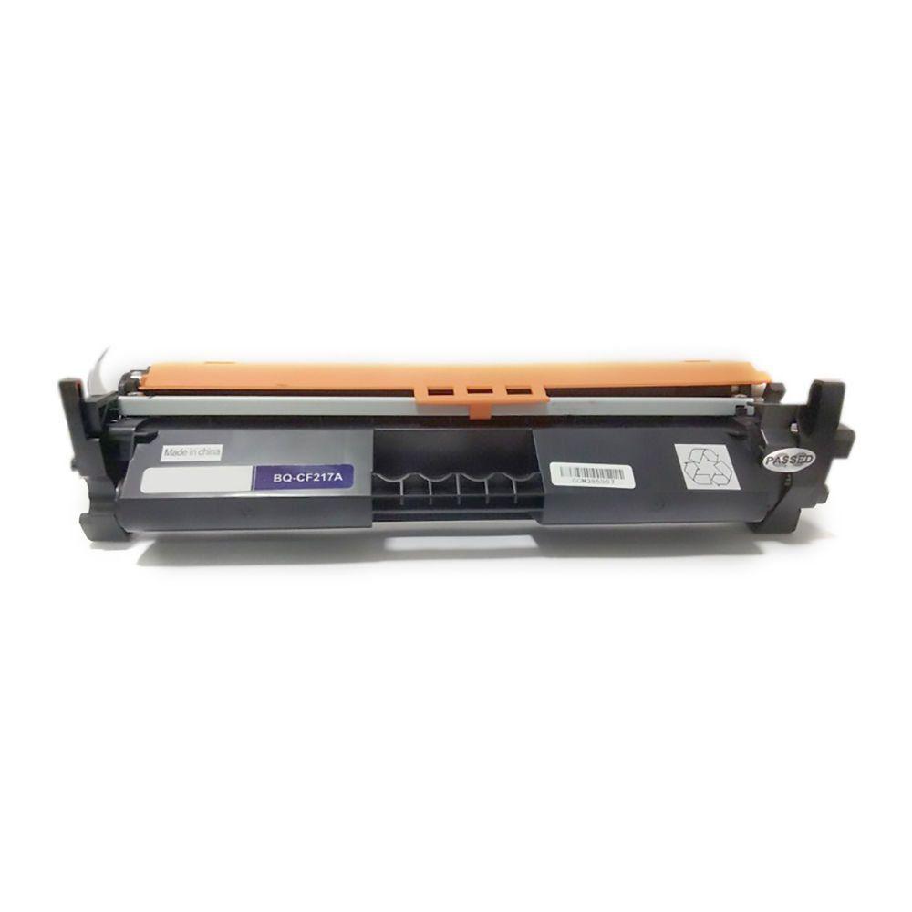 Compatível: Toner CF217A 217A 17A para Impressora HP M102 M102a M102w M130 M130a M130fn M130fw M130nw / Preto / 1.600