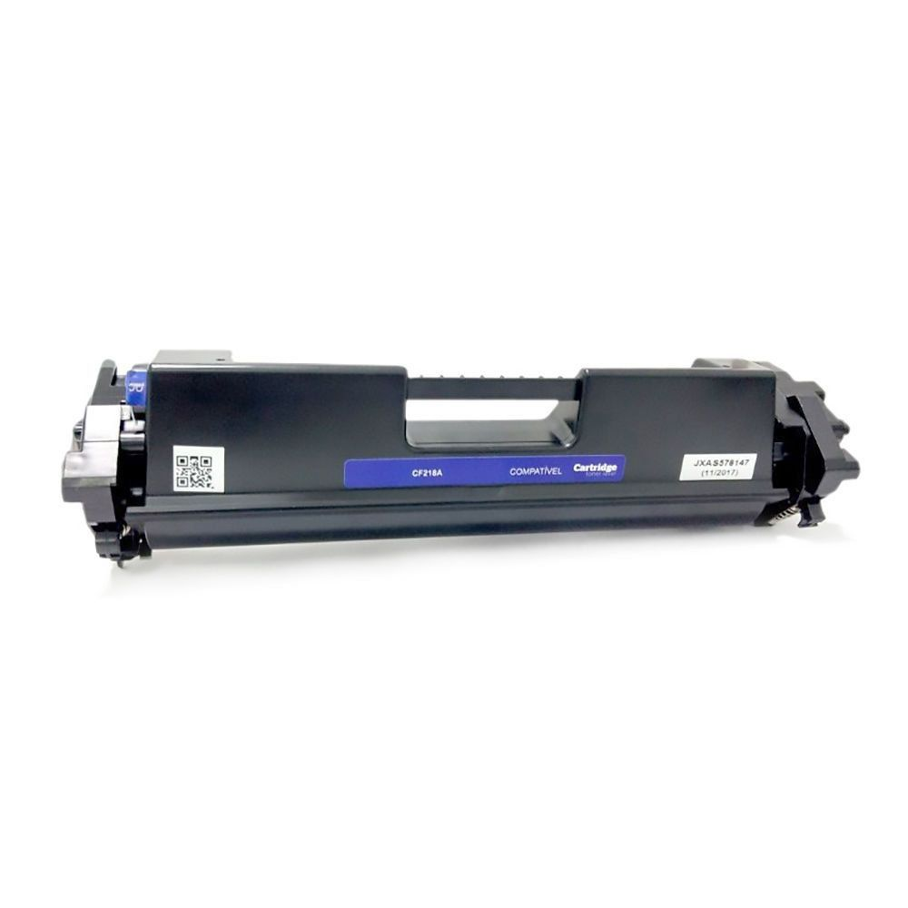 Compatível: Toner CF218A 218A 18A para Impressora HP M104 M104a M104w M132 M132a M132fn M132fw M132nw / Preto / 1.400