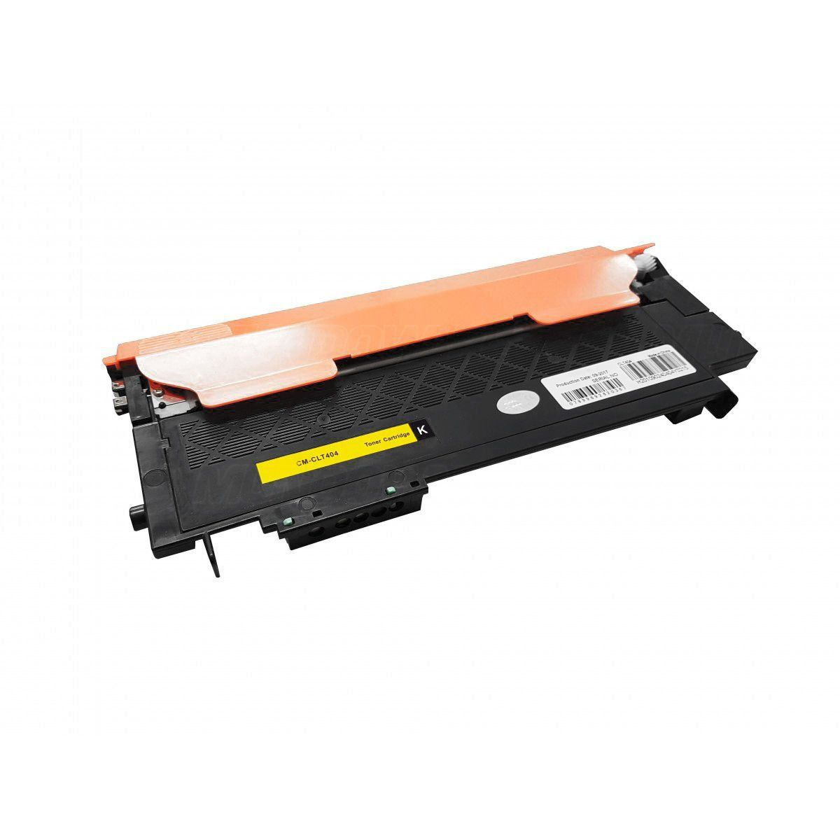 Compatível: Toner CLT-404 K404 para impressora Samsung SL-C430 C430w C480 C480w C480fn C480fw / Preto / 1.500
