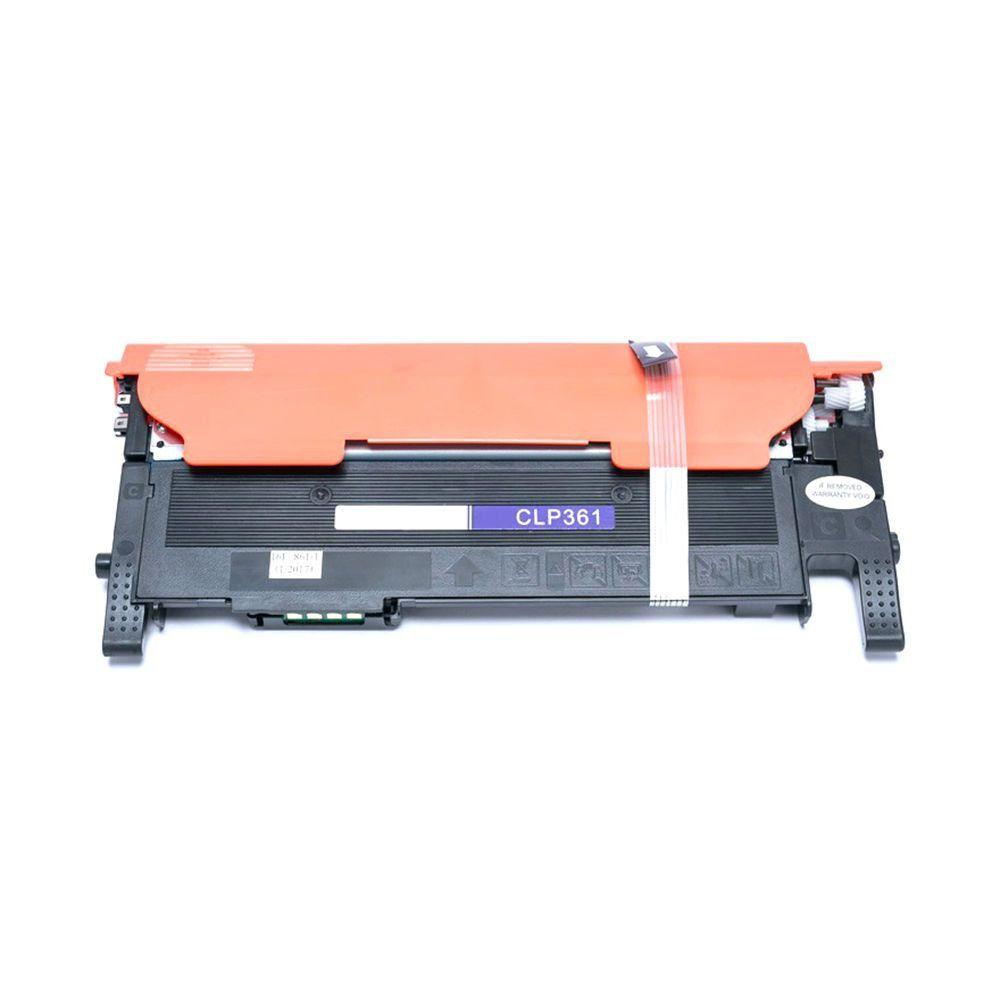 Compatível: Toner CLT-406 C406S para Samsung CLX-3300 CLX-3305 CLX-3305fw 3305w CLP-360 CLP-365 C460w / Ciano / 1.000