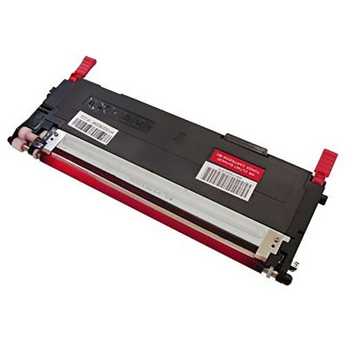 Compatível: Toner CLT-407S M407 para Samsung CLX-3185fw CLX-3185n CLX-3185fn 3185 CLP325 CLP320 / Magenta / 1.000