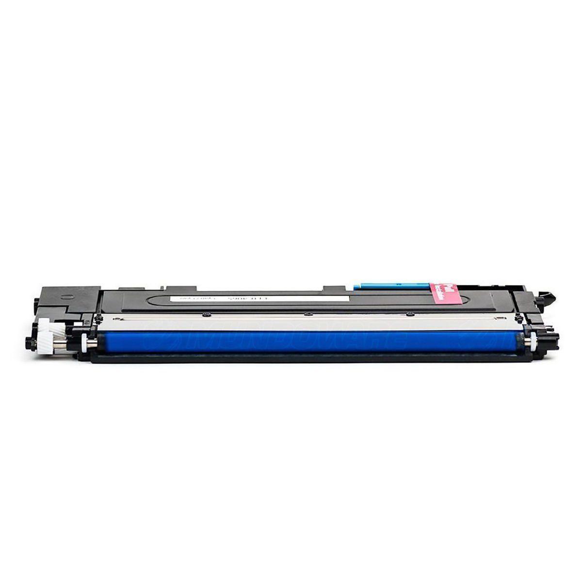 Compatível: Toner CLT-C404 404S para impressora Samsung SL-C430 C430w C480 C480w C480fn C480fw / Ciano / 1.000