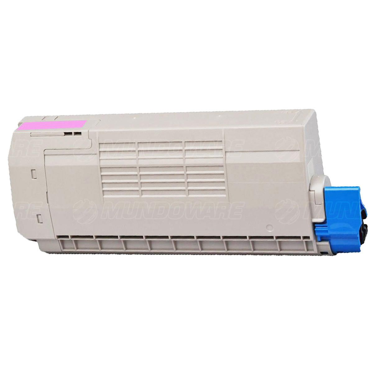 Compatível: Toner C710/711 para Impressora Okidata C710 C710n C710dn C710dtn C711 C711n C711dtn / Magenta / 11.500
