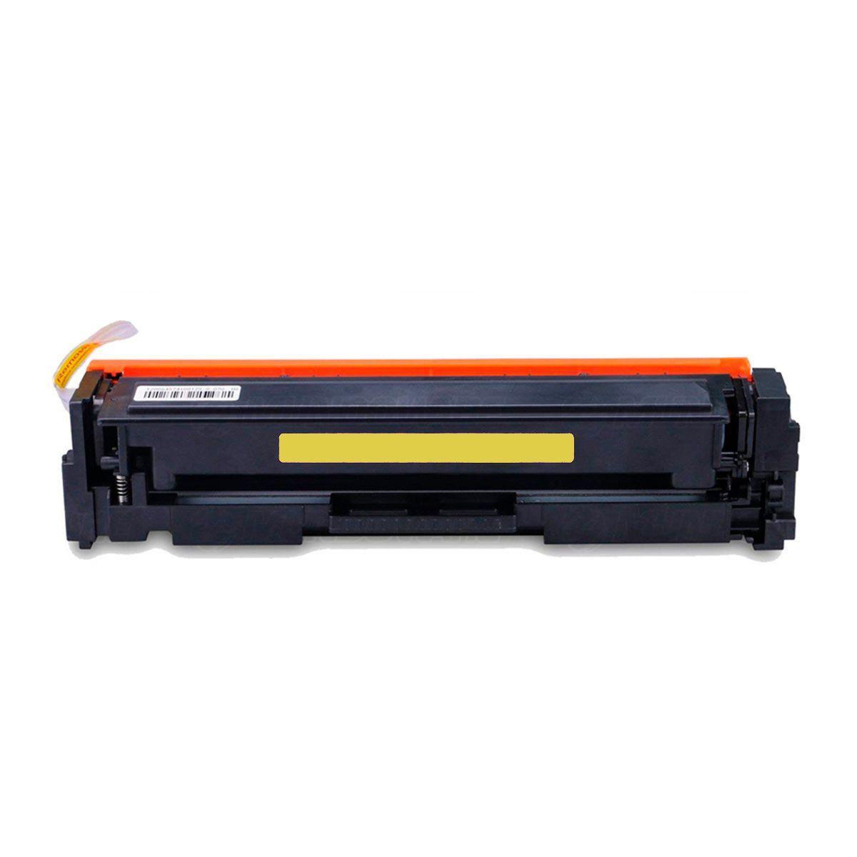 Compatível: Toner CF502A 502A 202A para impressora HP M254dn M254nw M281nw M281fdn M281fdw M280nw / Amarelo / 1.300