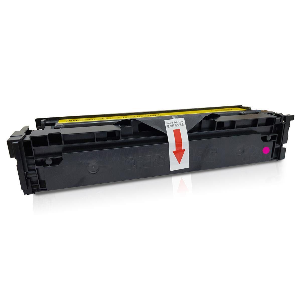 Compatível: Toner CF503A 503A 202A para impressora HP M281nw M281fdn M281fdw M254dn M254dw M254nw / Magenta / 1.300